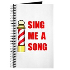 SING ME A SONG Journal