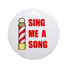 SING ME A SONG Ornament (Round)