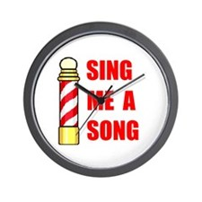 SING ME A SONG Wall Clock