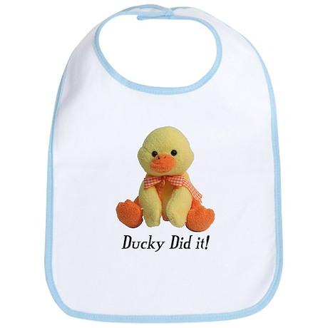 Ducky Did it! Bib