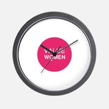 Value Women Wall Clock