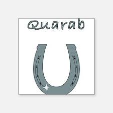 """quarab Square Sticker 3"""" x 3"""""""
