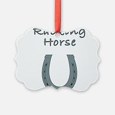 racking horse Ornament