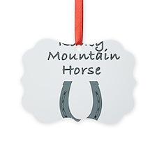 rocky mountain horse Ornament