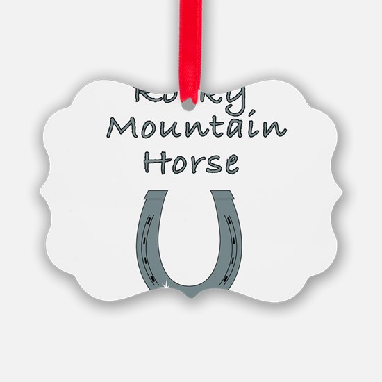 rocky mountain horse Ornament