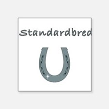 "standardbred Square Sticker 3"" x 3"""