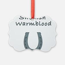swedish warmblood Ornament