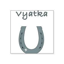 """vyatka Square Sticker 3"""" x 3"""""""
