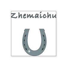 "zhemaichu Square Sticker 3"" x 3"""