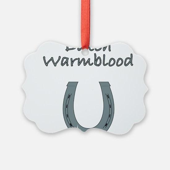 dutch warmblood Ornament
