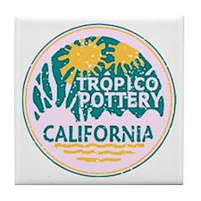 Tropico Pottery Tile Coaster