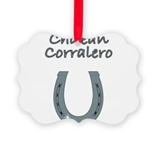chilean corralero Ornament