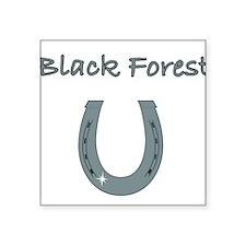 "black forest Square Sticker 3"" x 3"""