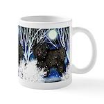 Blck Puli Dogs Winter Mug