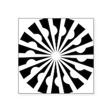 "Shape-534-[Converted].jpg Square Sticker 3"" x 3"""