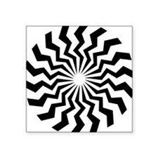 "Shape-555-[Converted].jpg Square Sticker 3"" x 3"""