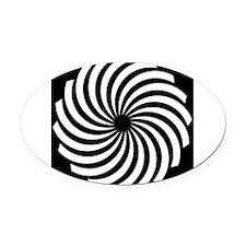 Shape-560-[Converted].jpg Oval Car Magnet