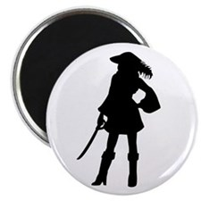 Pirate Girl Magnet