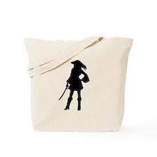 Pirate Girl Tote Bag