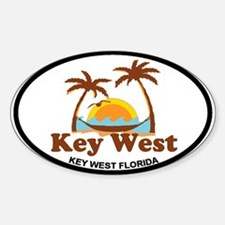 Key West - Palm Trees Design. Decal