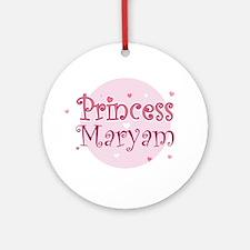 Maryam Ornament (Round)