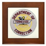 Tennessee Correction Framed Tile