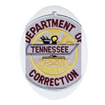 Tennessee Correction Oval Ornament