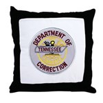 Tennessee Correction Throw Pillow