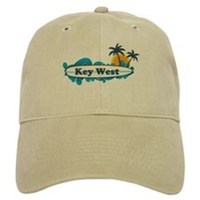 Key West - Surf Design. Baseball Cap