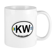 Key West - Oval Design. Mug