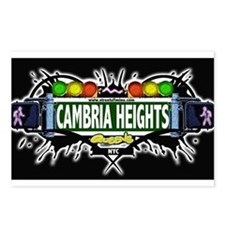 Cambria Heights Queens NYC (Black) Postcards (Pack