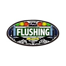 Flushing , Queens NYC (Black) Patches