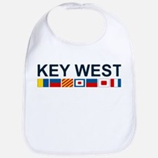Key West -Nautical Flags. Bib