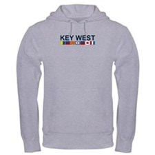 Key West -Nautical Flags. Hoodie