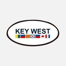 Key West -Nautical Flags. Patches