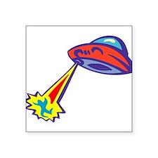 """Alien-Abduction-3-[Converte.png Square Sticker 3"""""""