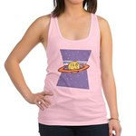 Alien-Face-on-Planet-2-[Con.png Racerback Tank Top