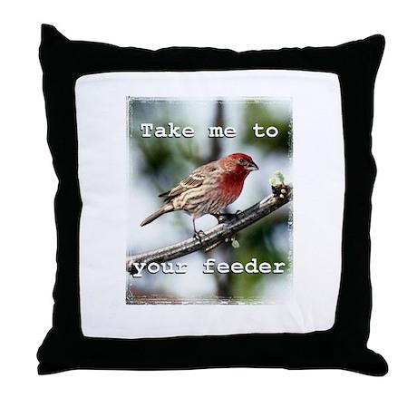 Bird Watcher's Pillow
