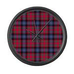 Tartan - Bonnar Large Wall Clock