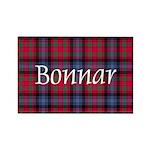 Tartan - Bonnar Rectangle Magnet (10 pack)