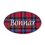 Tartan - Bonnar 20x12 Oval Wall Decal
