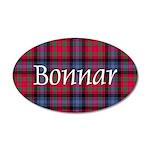 Tartan - Bonnar 35x21 Oval Wall Decal