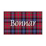 Tartan - Bonnar 35x21 Wall Decal