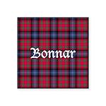 Tartan - Bonnar Square Sticker 3