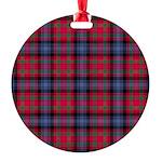 Tartan - Bonnar Round Ornament