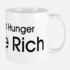 End World Hunger, Eat the Rich Mug