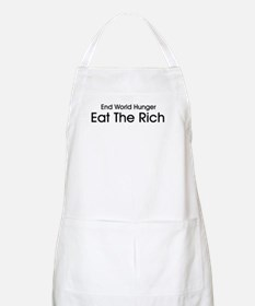 End World Hunger, Eat the Rich Apron