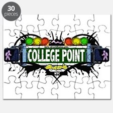 College Point Queens NYC (White) Puzzle