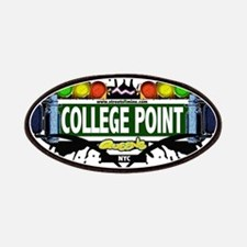 College Point Queens NYC (White) Patches