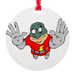 Superhero-Flying-12-[Conver.png Round Ornament